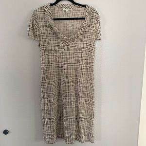 Banana Republic silk blend dress